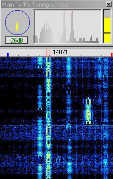 Good quality BPSK31 transmission